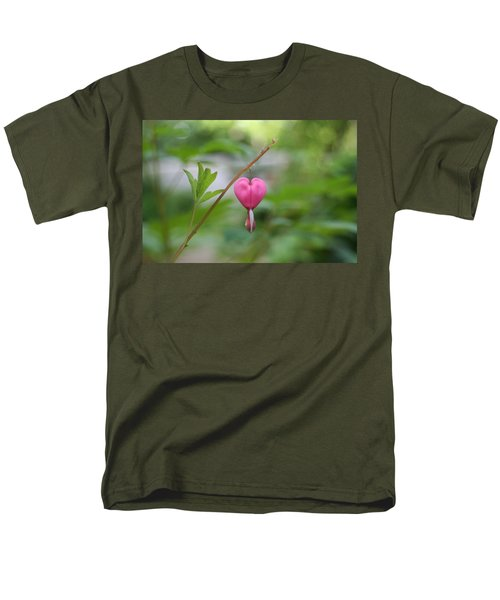 Men's T-Shirt  (Regular Fit) featuring the digital art Take My Heart by Barbara S Nickerson