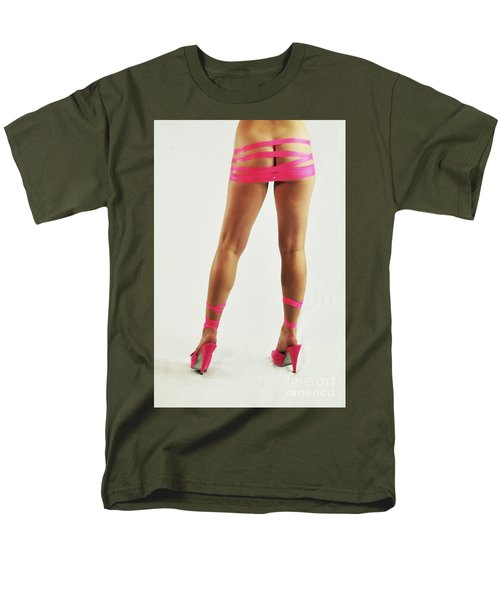 Tape And Heels Men's T-Shirt  (Regular Fit) by Robert WK Clark