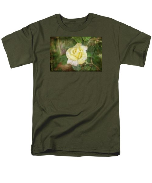 Men's T-Shirt  (Regular Fit) featuring the photograph Tapestry Rose by Joan Bertucci