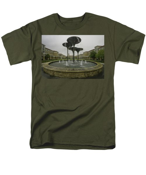 Tcu Campus Commons Men's T-Shirt  (Regular Fit) by Jonathan Davison
