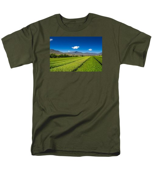 Tea In The Valley Men's T-Shirt  (Regular Fit) by Mark Lucey