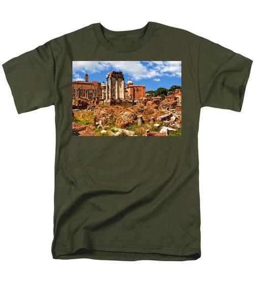 Temple Of Vesta Men's T-Shirt  (Regular Fit) by Anthony Dezenzio