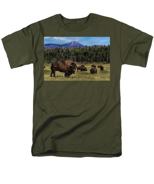 Tending The Herd Men's T-Shirt  (Regular Fit)