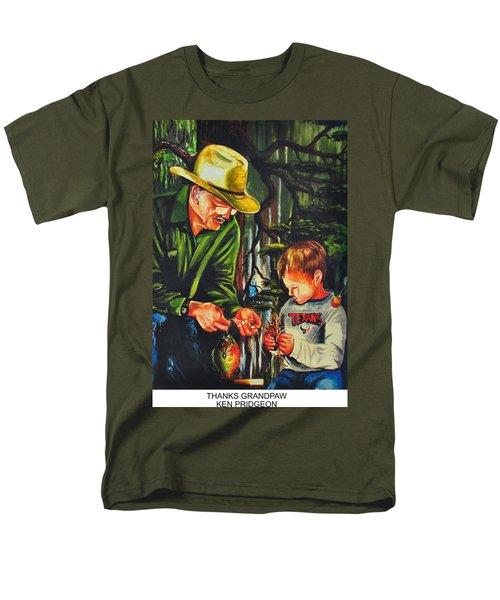 Thanks Grandpaw Men's T-Shirt  (Regular Fit) by Ken Pridgeon