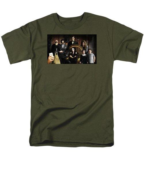 The Addams Family Men's T-Shirt  (Regular Fit) by Alessandro Della Pietra