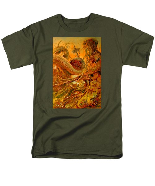 Men's T-Shirt  (Regular Fit) featuring the painting The Alchemist by Henryk Gorecki