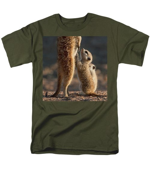 The Baby Is Hungry Men's T-Shirt  (Regular Fit)