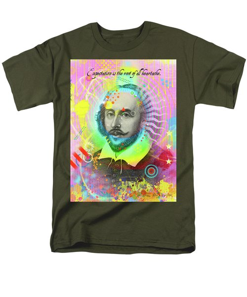 The Bard Men's T-Shirt  (Regular Fit) by Gary Grayson