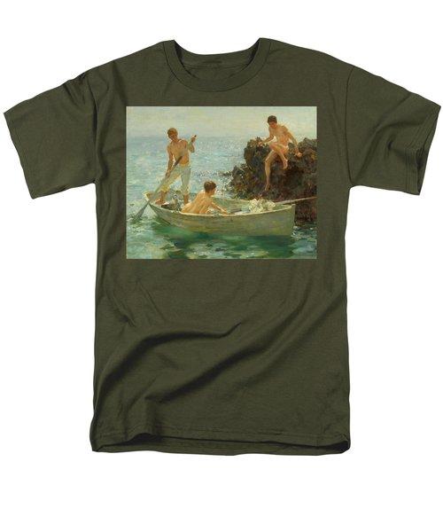 The Bathing Cove Men's T-Shirt  (Regular Fit) by Henry Scott Tuke
