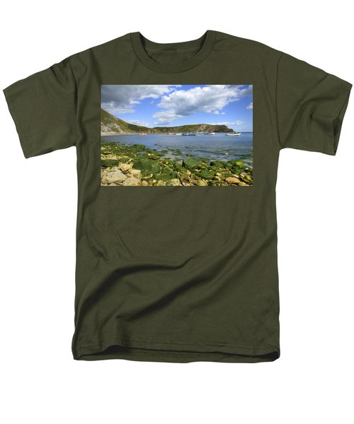 Men's T-Shirt  (Regular Fit) featuring the photograph The Beauty Of Lulworth Cove by Ian Middleton