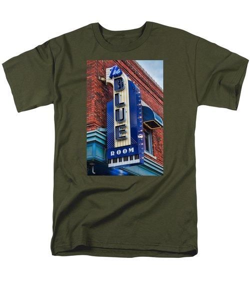 The Blue Room Sign Men's T-Shirt  (Regular Fit) by Steven Bateson