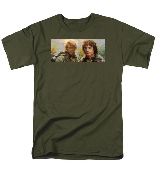 Men's T-Shirt  (Regular Fit) featuring the photograph The Bonds Of Friendship by Mario Carini