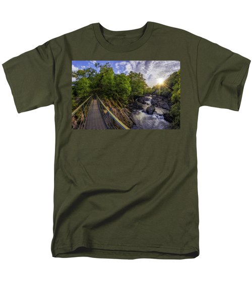 The Bridge To Summer Men's T-Shirt  (Regular Fit) by Ian Mitchell