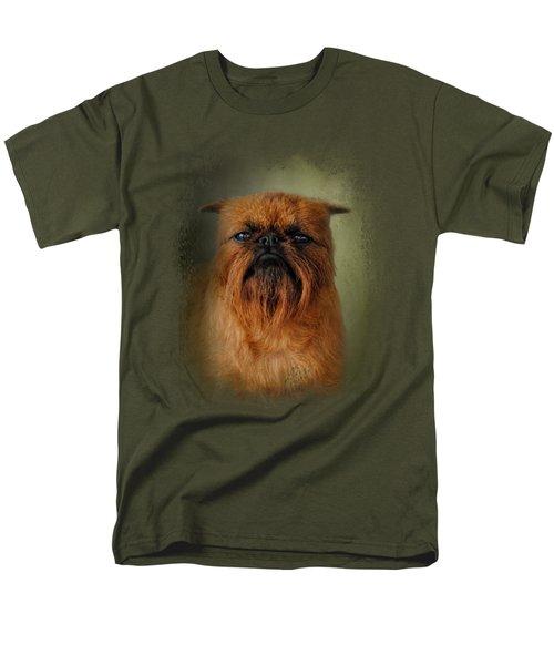 The Brussels Griffon Men's T-Shirt  (Regular Fit) by Jai Johnson