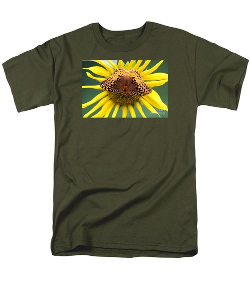 The Butterfly Effect Men's T-Shirt  (Regular Fit) by Tina  LeCour