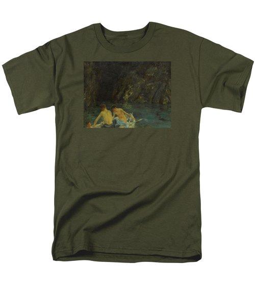 The Cavern Men's T-Shirt  (Regular Fit) by Henry Scott Tuke