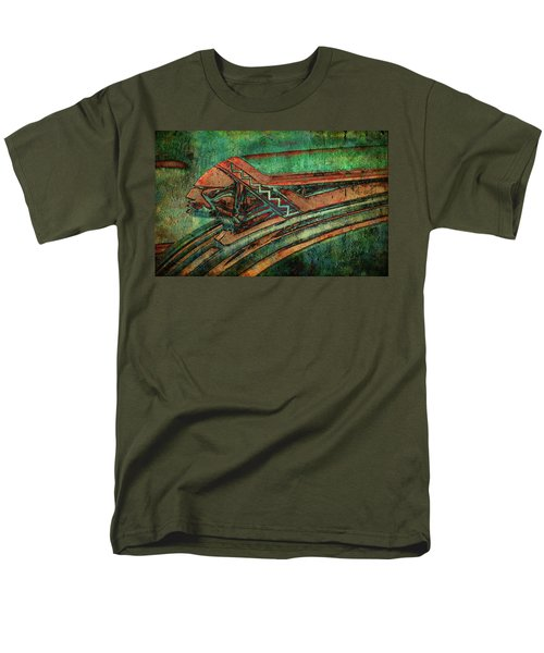 Men's T-Shirt  (Regular Fit) featuring the digital art The Chief by Greg Sharpe