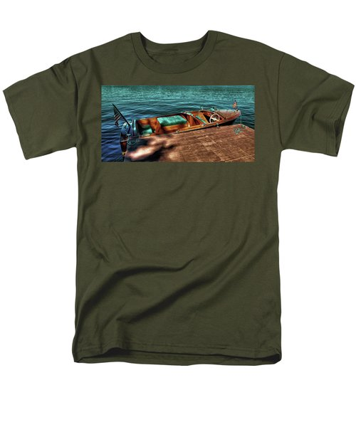 The Chris Craft Continental - 1958 Men's T-Shirt  (Regular Fit) by David Patterson