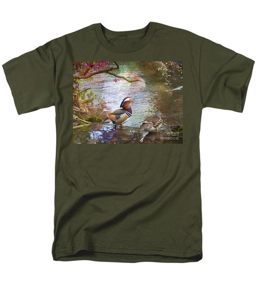 Men's T-Shirt  (Regular Fit) featuring the photograph The Colours Of Spring by LemonArt Photography