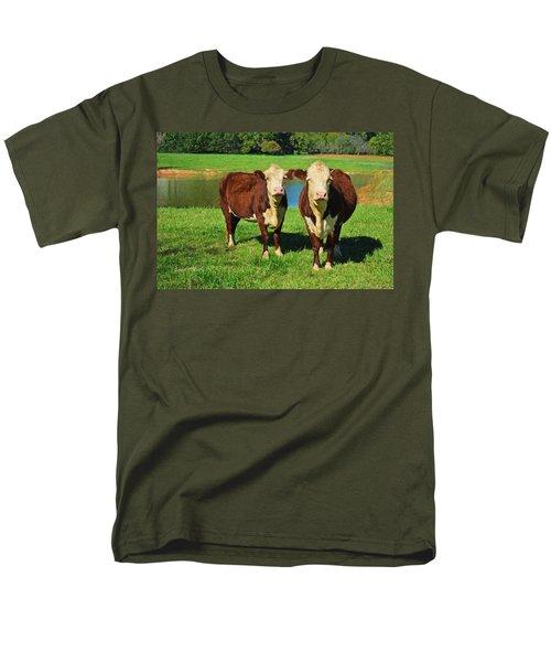 The Cow Girls Men's T-Shirt  (Regular Fit) by Sandi OReilly