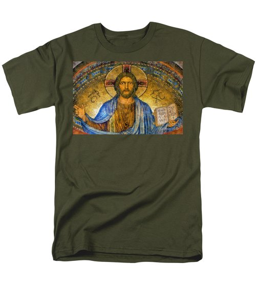 The Cross Of Christ Men's T-Shirt  (Regular Fit) by Ian Mitchell