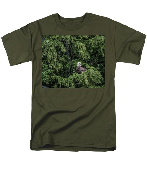 Men's T-Shirt  (Regular Fit) featuring the photograph The Dark Eyed One by Timothy Latta