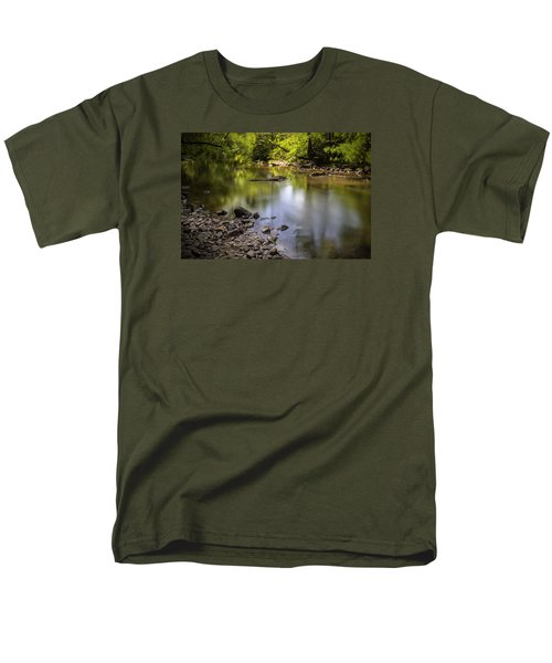 Men's T-Shirt  (Regular Fit) featuring the photograph The Devon River by Jeremy Lavender Photography