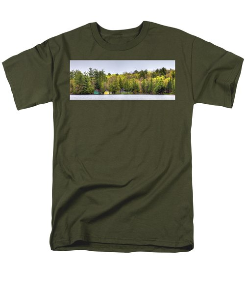 The Early Greens Of Spring Men's T-Shirt  (Regular Fit) by David Patterson