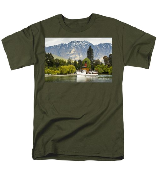 The Earnslaw Men's T-Shirt  (Regular Fit) by Werner Padarin