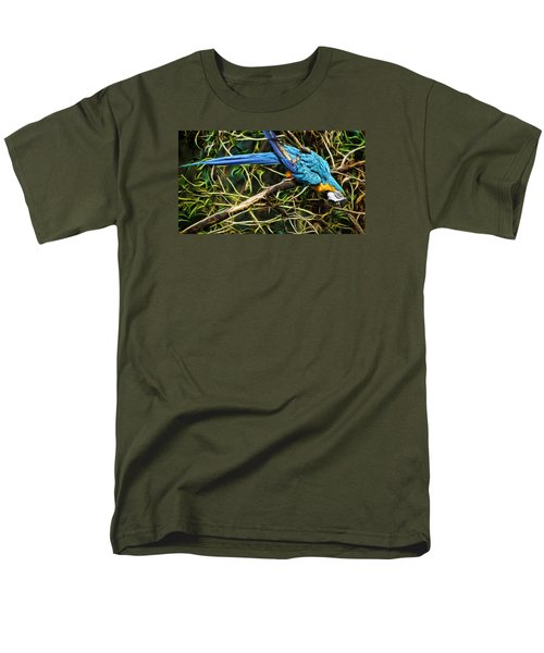 Men's T-Shirt  (Regular Fit) featuring the photograph The Enchanted Forest by Cameron Wood