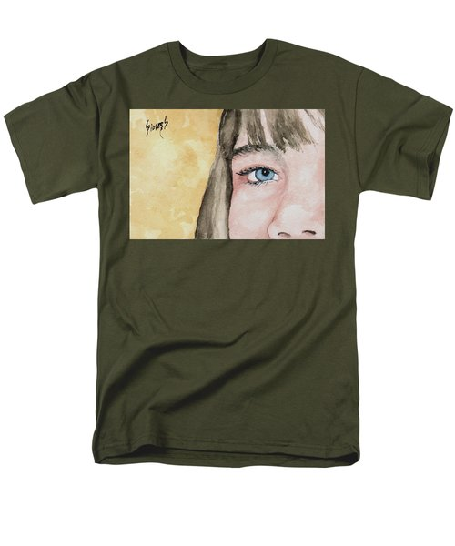 The Eyes Have It - Bryanna Men's T-Shirt  (Regular Fit) by Sam Sidders