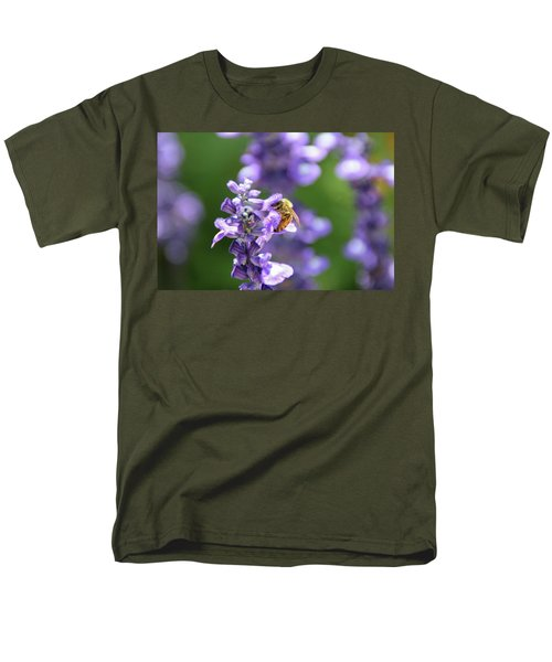 Men's T-Shirt  (Regular Fit) featuring the photograph The Fauna And Flora Rendez-vous by Yoel Koskas
