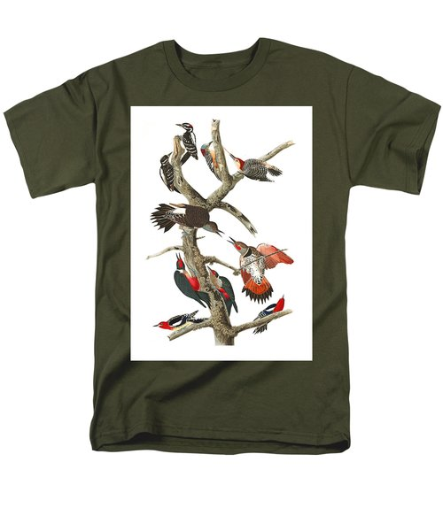 Men's T-Shirt  (Regular Fit) featuring the photograph The Fight by Munir Alawi