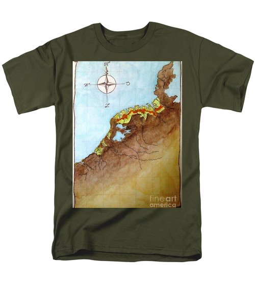 The First Frisians Men's T-Shirt  (Regular Fit) by Annemeet Hasidi- van der Leij