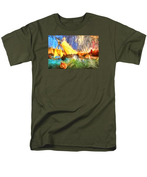 Men's T-Shirt  (Regular Fit) featuring the photograph The Fury by Jack Torcello