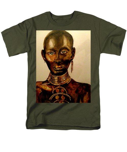 The Golden Black Men's T-Shirt  (Regular Fit) by Yolanda Rodriguez