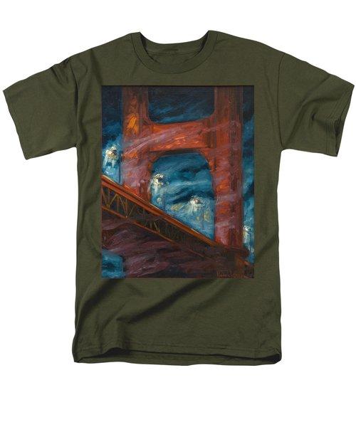 The Golden Gate Men's T-Shirt  (Regular Fit) by Rick Nederlof