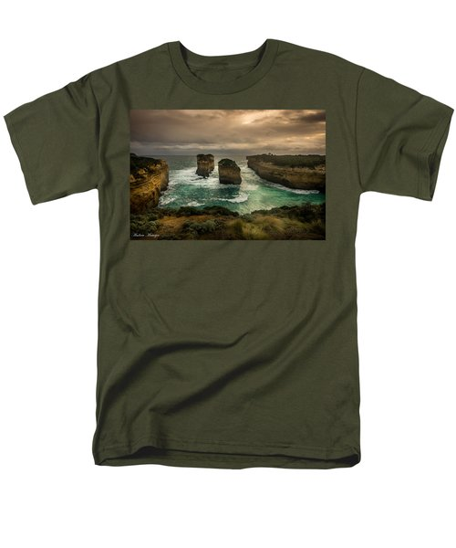 The Inlet Men's T-Shirt  (Regular Fit) by Andrew Matwijec