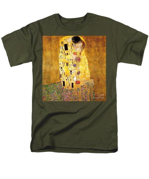 The Kiss Men's T-Shirt  (Regular Fit) by Klimt