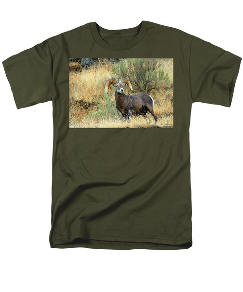 The Loner Men's T-Shirt  (Regular Fit) by Steve Warnstaff