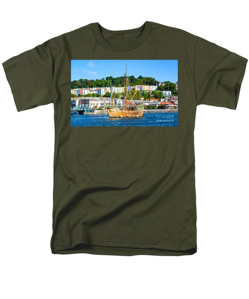 The Matthew In Bristol Harbour Men's T-Shirt  (Regular Fit) by Colin Rayner