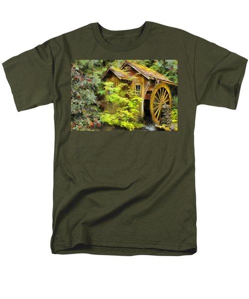The Mill Men's T-Shirt  (Regular Fit) by Eva Lechner