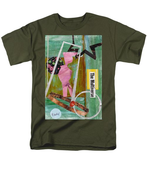 The Multiverse Men's T-Shirt  (Regular Fit) by Patricia Cleasby