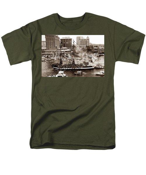 The Old Crew Of Gaspar Men's T-Shirt  (Regular Fit) by David Lee Thompson