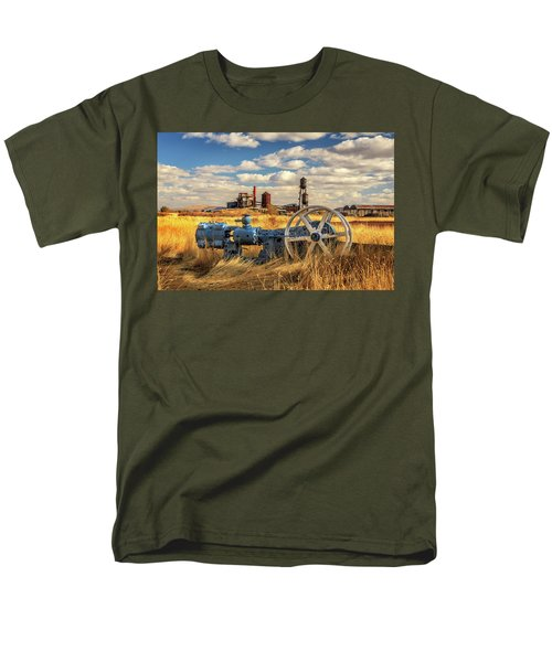 The Old Lumber Mill Men's T-Shirt  (Regular Fit) by James Eddy