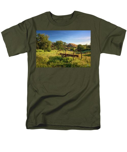 The Old Mower 1 Men's T-Shirt  (Regular Fit) by Endre Balogh