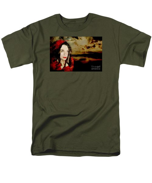 Men's T-Shirt  (Regular Fit) featuring the photograph The Opioid Called Optimism by Heather King