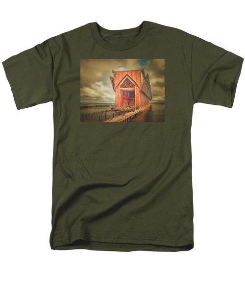 Men's T-Shirt  (Regular Fit) featuring the photograph The Ore Is Gone Redux by MJ Olsen