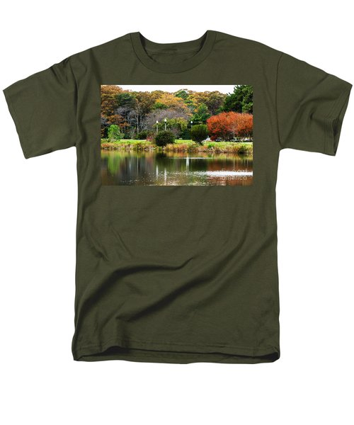 The Park Men's T-Shirt  (Regular Fit) by Judy Wolinsky