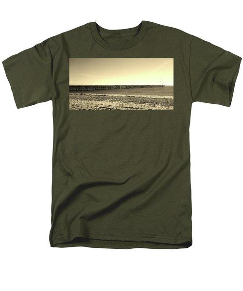 The Pier Men's T-Shirt  (Regular Fit) by Mary Ellen Frazee